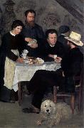 Pierre Auguste Renoir At the Inn of Mother Anthony oil