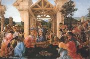 Sandro Botticelli Adoration of the Magi oil painting reproduction