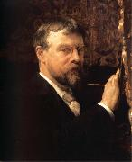 Sir Lawrence Alma-Tadema,OM.RA,RWS Self-Portrait oil