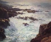 William Ritschel Our Dream Coast of Monterey,aka Glorious Pacific,n.d. oil
