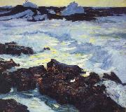 William Ritschel Purple Tide oil