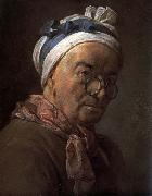 jean-Baptiste-Simeon Chardin Self-Portrait oil on canvas
