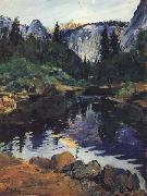 karl yens Yosemite oil on canvas