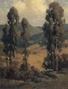 unknow artist California landscape oil painting reproduction