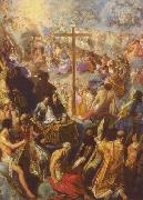 Adam Elsheimer The Exaltation of the Cross from the Frankfurt Tabernacle oil painting reproduction