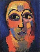 Alexei Jawlensky head painting