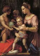 Andrea del Sarto Holy Family with St. John young painting
