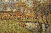 Camille Pissarro Riparian oil painting reproduction