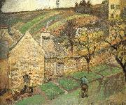 Camille Pissarro Hill painting