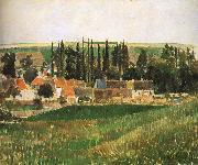 Camille Pissarro Hurrying scenery painting