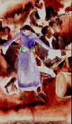 Charles Demuth The Jazz Singer oil on canvas