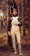 Edouard Detaille Grenadier of the Old Guard oil painting reproduction