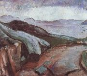 Edvard Munch Coast oil painting reproduction
