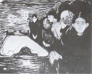 Edvard Munch Death oil painting reproduction