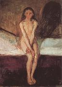 Edvard Munch Pubescent oil painting reproduction