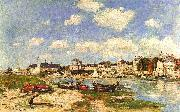 Eugene Boudin Trouville oil painting reproduction