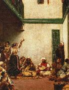 Eugene Delacroix Jewish Wedding in Morocco china oil painting reproduction