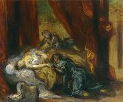 Eugene Delacroix The Death of Desdemona china oil painting reproduction