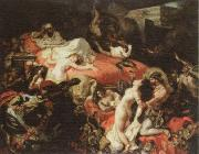 Eugene Delacroix the death of sardanapalus china oil painting artist