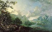 George Barret View of Windermere Lake oil painting