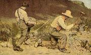 Gustave Courbet Stone Breakers china oil painting reproduction