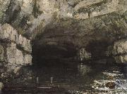 Gustave Courbet Headspring painting