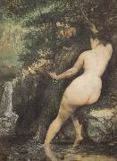 Gustave Courbet Bather oil painting reproduction
