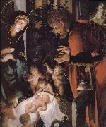 Hans Holbein The birth of Christ china oil painting artist