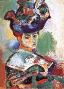 Henri Matisse Hat woman painting