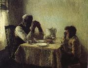 Henry Ossawa Tanner Thanksgiving poor oil on canvas