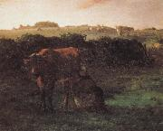 Jean Francois Millet Peasant shove milk china oil painting reproduction
