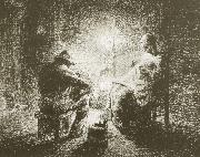 Jean Francois Millet Tonight oil painting reproduction