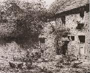 Jean Francois Millet House painting