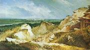 Johann Christian Brand Sandpit oil on canvas
