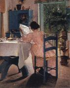 Laurits Andersen Ring at breakfast oil