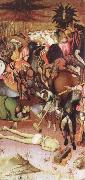 MARTORELL, Bernat (Bernardo) The Decapitation of St.George oil on canvas