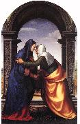 Mariotto Albertinelli The Visitation oil painting reproduction