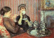 Mary Cassatt Tea by Mary Cassatt china oil painting artist