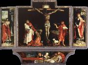 Matthias Grunewald lsenheim altarpiece oil on canvas