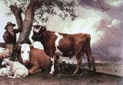 POTTER, Paulus the bull china oil painting reproduction