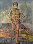 Paul Cezanne Bather oil painting reproduction