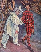 Paul Cezanne Fastnacht oil painting reproduction