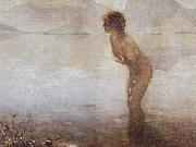 Paul Emile Chabas Paul Chabas September Morn oil on canvas