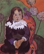 Paul Gauguin Portrait of girls oil painting reproduction