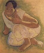 Paul Gauguin Tahiti woman china oil painting artist