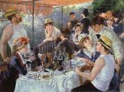 Pierre-Auguste Renoir luncheon of the boating party oil painting reproduction