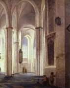 Pieter Saenredam the lnterior of the buurkerk at utrecht china oil painting reproduction