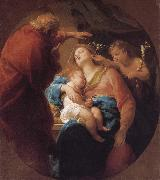Pompeo Batoni Holy Family with St. John the Baptist painting