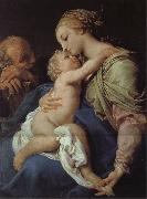Pompeo Batoni Holy Family painting