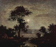 Ralph Albert Blakelock Moonlight oil